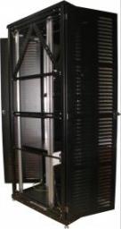 AESP Шкаф Black Premium, 47U, 2257x600x1000 мм, разборный черный двухдверный REC-64710M-BK