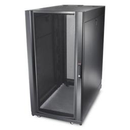 APC AR3150 Телекоммуникационный шкаф NetShelter SX, 42U, 750x1070x1991 мм (ШхГхВ), c боковыми панелями, перфорированная передняя и задние дверцы, опора с регулировкой горизонтальности, ролики, черный