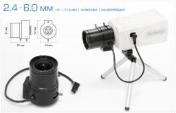 Infinity Варифокальный асферический объектив 2.4 - 6 мм с ИК коррекцией SCVMA-246 GIR
