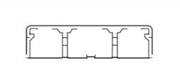 Legrand DLPlus Мини-плинтус плоский 80х20 белый