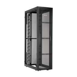 PANDUIT S752C129H Серверный шкаф Net-SERV, 700x1200, 45U, организаторы высокой ёмкости, без боковых панелей