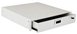 ZPAS WZ-SB67-00-00-011 Ящик для документов, 2U x 415 x 465 mm, цвет серый (RAL 7035) (SZB-67-00-00)